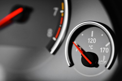 Engine Coolant Gauge on the Dashboard