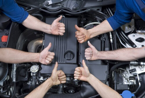Ventura Top Auto Repair Shop Thumbs Up
